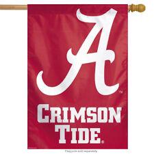 """University of Alabama Crimson Tide Vertical Flag NCAA Licensed Banner 27"""" x 37"""""""