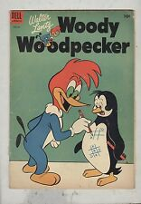 Woody Woodpecker #22 December 1954 G+ Tic-Tac-Toe Cover