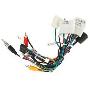 Dasaita For Nissan X-Trail QashaqaiCar Stereo Wire Harness with CAN-Bus Adapter