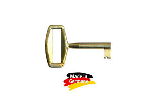 "5 Stk. Möbelschlüssel  ""vermessingt""   55 mm - Nr. 016 - #5"