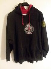 Top Heavy Hoodie Men Pull Over Custom Choppers Black Size XL