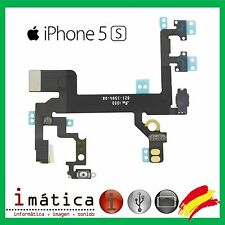 FLEX ENCENDIDO IPHONE 5S CABLE BOTON ON OFF VOLUMEN MUTE FLASH MICROFONO POWER