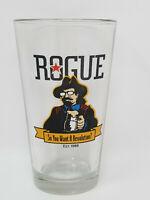 Rogue Ales So You Want a Revolution Glasses Hat Newport Oregon Beer Pint Glass
