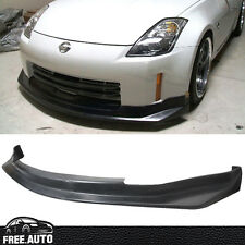 FITS 06 07 08 09 NISSAN 350Z N-S FRONT BUMPER LIP 2006-2009 POLY URETHANE PU