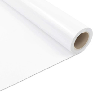 Heat Transfer HTV Premium Quality White Vinyl For T-shirt Garment Clothing DIY