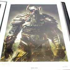 Elder Scrolls Online ESO THE NORD Lithograph Print Art Limited Edition #130