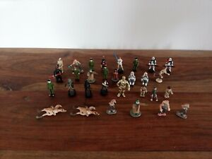 Lot 30x Personnages Star Wars Action Fleet Galoob Micromachines