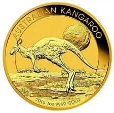 1 oz Gold Känguru 100 Dollar Australien - Verschiedene Jahrgänge Goldmünze 999,9