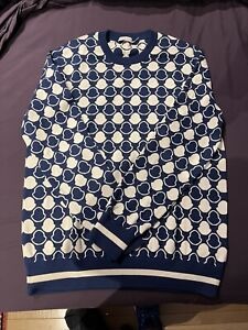 Moncler Logo Sweater - Navy - XL! Excellent Condition!