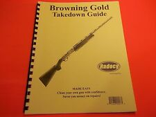 TAKEDOWN MANUAL GUIDE FOR BROWNING GOLD SEMI SHOTGUN