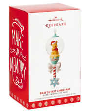 Hallmark: Winnie The Pooh Babys First Rattle - Limited Edition RePaint - NO DATE