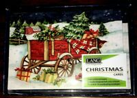 """""""SNOWY DELIVERY"""" Petite LANG Boxed Christmas Cards (12 Pack) by Susan Winget"""