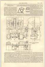1900 American Corliss motores para tracción eléctrica