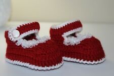 3-6 Months Crochet Baby Girl Sandals, Crochet Baby Shoes, Baby Girl Sandals,