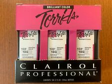 CLAIROL PROFESSIONAL TORRIDS BRILLIANT COLOR 103G/10G BRAZEN GOLD 6/PK 2 OZ