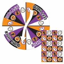Kids Halloween Party Game Bend-N-Twist with Floor Mat & Spinner Dial