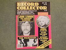 RECORD COLLECTOR MAGAZINE NO 134 OCTOBER 1990 MADONNA JOHN LENNON HENDRIX