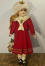 Marian Yu Designs Christmas Limited Edition Doll