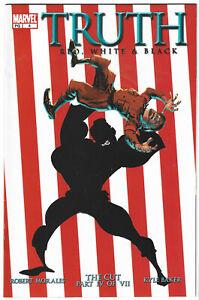 Truth Red White & Black #4 Isaiah Bradley Marvel Comics 2003