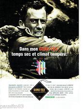 PUBLICITE ADVERTISING 125  1996  GORE-TEX vetements pluie imperméables