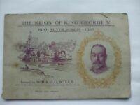 Vintage The Reign Of King George V - W.D.&H.O.Wills Cigarette Card Album