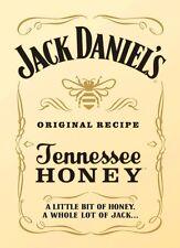 Nuevo A4 Jack Daniel's miel Whisky aerógrafo de plantilla plantilla pintura paso a paso