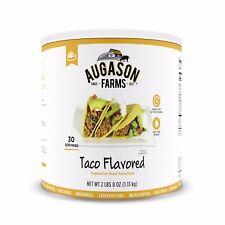 Augason Farm Vegetarian Taco Meat Substitute Emergency Survival Camping RV Food