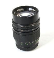 Preset Lens Sunagor series I 135mm 2.8 - M42 Mount *FUNGUS*