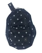 NEW Converse Go Logo Print Black White Unisex Backpack Bookbag Bag 10004801-A01