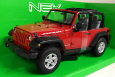 Nex models 1/24 Scale 22489W 2007 Jeep Wrangler Rubicon open Diecast model car