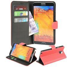 Fundas con tapa de piel sintética para teléfonos móviles y PDAs Samsung