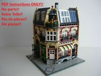 Hardware Store LEGO Building Instruction 10182 10185 10190 10197 10211 10218