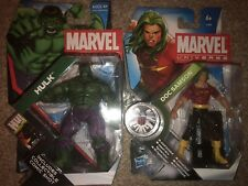 Hasbro Marvel Universe Incredible Hulk & Doc Samson 3.75''