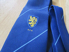 NCA Possibly CRICKET Club Tie by Eskay & Made in New Zealand