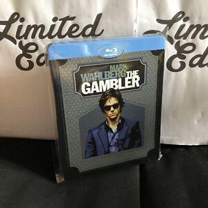 THE GAMBLER -blu ray-STEELBOOK-Mark Wahlberg-audio italiano-edizione limitata