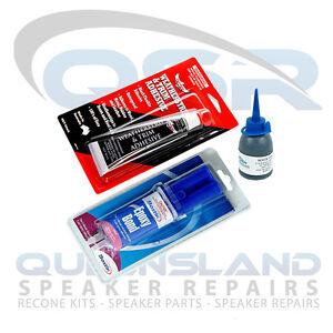 Speaker Repair Adhesive/ Glue – Complete Speaker Recone Adhesive Pack
