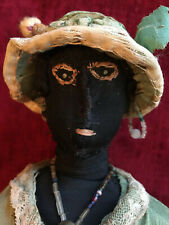 Antique Black Folk Art doll