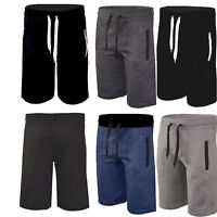 Mens Shorts Jogger Cotton Summer Jogging Gym Pants Casual Running Sport Trousers