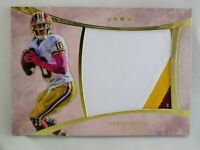 Robert Griffin III RG3 2013 Five Star 3-Color Jumbo Patch Card /25 Redskins