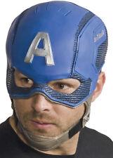 Captain America Civil War Adult Blue Helmet Mask Halloween Rubies