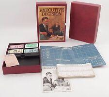 MIB Unplayed 1971 3M Bookshelf Game - Executive Decision Big Business Management