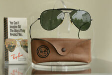 TOP: Bausch & Lomb Ray Ban USA Outdoorsman 58[]14 Sport Harley , BL Vintage