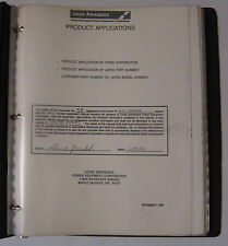 Lucas Aerospace Product Applications Manual