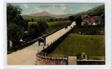 ON THE ROAD TO LOCH ARD, ABERFOYLE: Perthshire postcard (C29941)