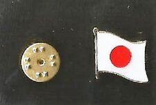 Japan - Pin Badge - International - Japanese Flag - Hat Pin - Rugby