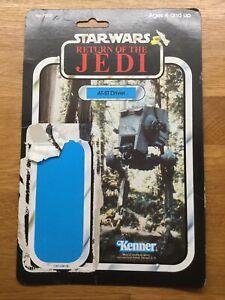 Vintage Star Wars At-St Driver ROTJ Cardback 79 Back (B)