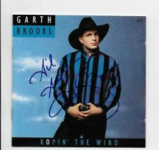 Ropin' the Wind by Garth Brooks CD Signed & Inscribed by Garth Brooks