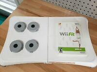 Nintendo Wii Fit with Balance Board and Risers Bundle Tested and Working A++