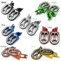 7 Color CNC Bike Foot peg Rest Footpegs Pedal Footrest For Kawasaki Suzuki Honda