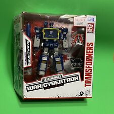 Transformers SOUNDWAVE War for Cybertron Walmart Exclusive Netflix IN-HAND NEW